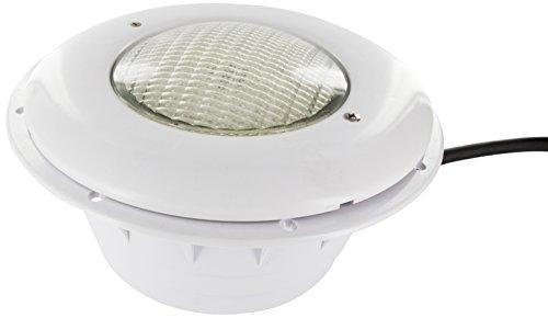 Steinbach Beleuchtung Wireless LED Unterwasserscheinwerfer für Folienbecken, Ø 280 mm, 13 W / 12 V, inkl. Fernbedienung, 060935