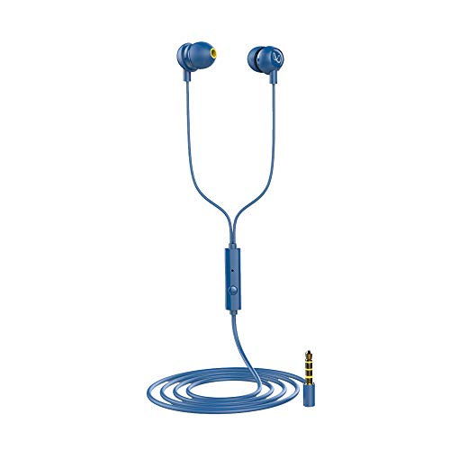 Infinity Zip 20 in-Ear Deep Bass Headphones with Mic (Mystic Blue)
