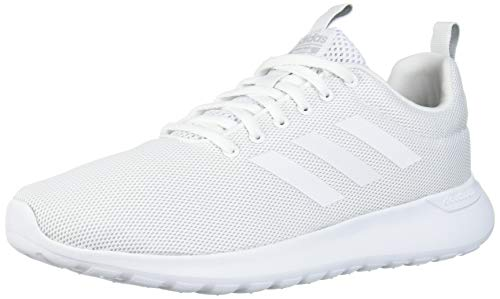 adidas Women's LITE Racer CLN Running Shoe, FTWR White/FTWR White/Grey Two Fabric, 10