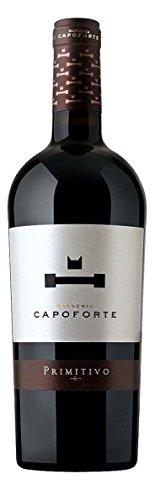 6x 0,75l - 2017er - Masseria Capoforte - Primitivo - Salento I.G.T. - Apulien - Italien - Rotwein trocken