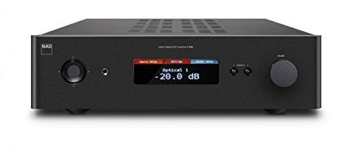 NAD C 388 Schwarz - Audioverstärker (0,009%, 113 dB, 150 W, 150 W, 400 W, 350 W)