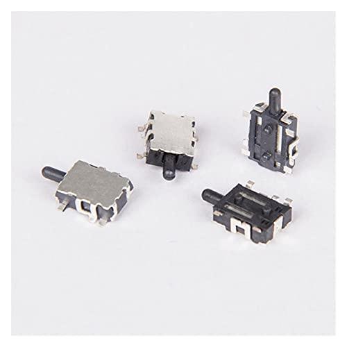 JSJJAUA Micro Interruptor 10pcs Mini Interruptor Deslizante Restablecer Micro Toggle Switch Interruptor en Miniatura Normalmente Lado Cerrado Presione K1 12V