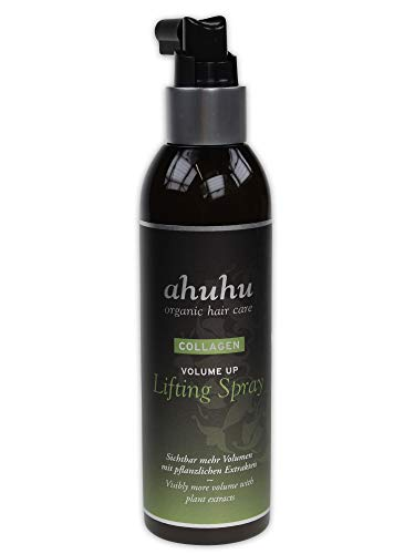 ahuhu oraganic hair care Collagen Volume Up Lifting (Ansatz-) Spray 200ml