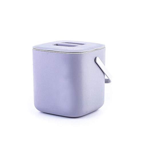 Mackur Küchenabfalleimer Komposteimer Biomülleimer für die Küche,Komposteimer für die Küche 18.3 * 16.6 * 17.1cm