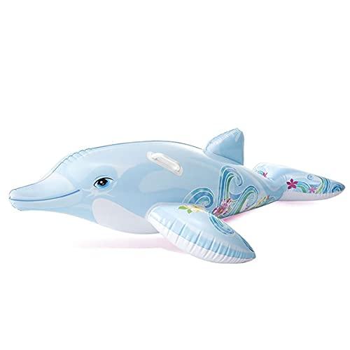 Intex aufblasbares Reittier Delfin 175x66cm für Pool Planschbecken