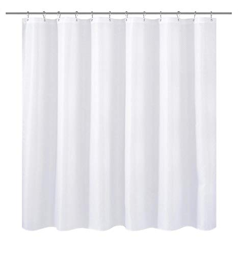 N&Y HOME Extra Wide Fabric Shower Curtain or Liner 108 x 72...