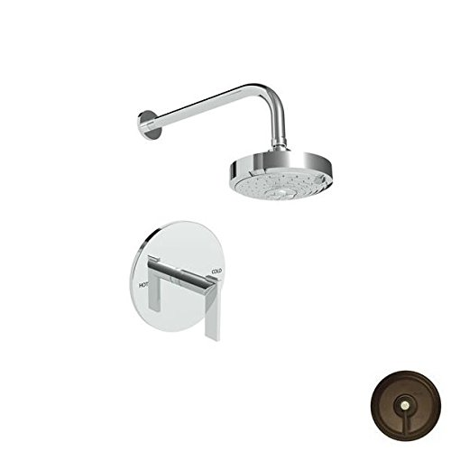 Affordable Newport Brass 3-2484BP/03W Priya Shower Trim Only Pressure Balanced with Showerhead and S...