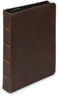 Best small leather 3 ring binder Reviews