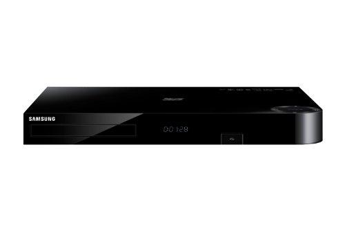 Samsung BD-H8509S HD-Recorder und Satelliten Receiver mit Twin Tuner und 3D Blu-ray Player (500GB HDD, DVB-S, CI+, WLAN, Smart Hub) schwarz