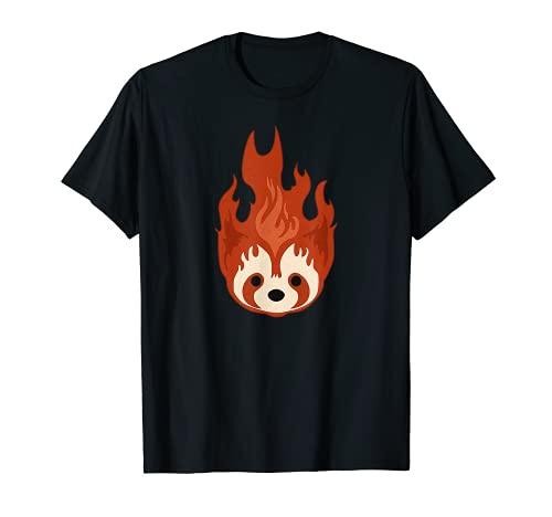 LoK Fire Frettchen Pro Bending Team Emblem Republik City Pabu T-Shirt