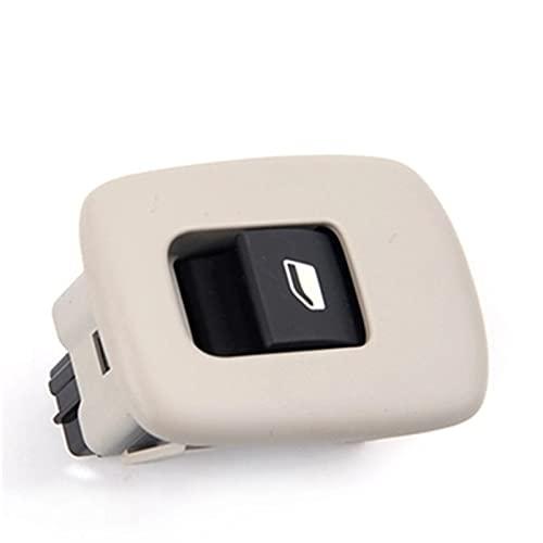 MNBHD Interruptor de ventana para Citroen C5 para Peugeot 508 interruptor de elevador, interruptor de control de ventana (color: beige)