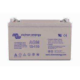 Victron Energy 12V 110Ah AGM batería de ciclo profundo (M8)–bat412101085