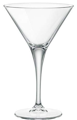 Arcoroc - Set di 6 Bicchieri Cocktail - Martini - Particolari - Vintage - Ideale per la casa, Ristorante Feste e Ricevimenti - Adatto alla Lavastoviglie e Forno a Microonde - cl 15 H 16,5 Ø cm 9,5