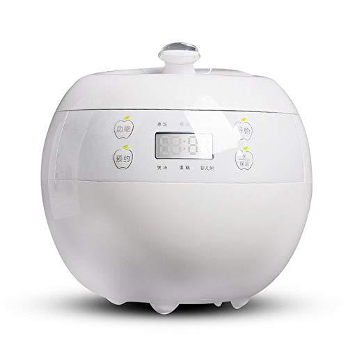 CN Hervidor de arroz Inteligente Cita Mini arrocera eléctrica sartén,Blanco,1
