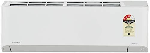 TOSHIBA 1 Ton 3 Star Inverter Split AC (Copper, RAS-13BKCV-IN+RAS-13BACV-IN, Gloss White)