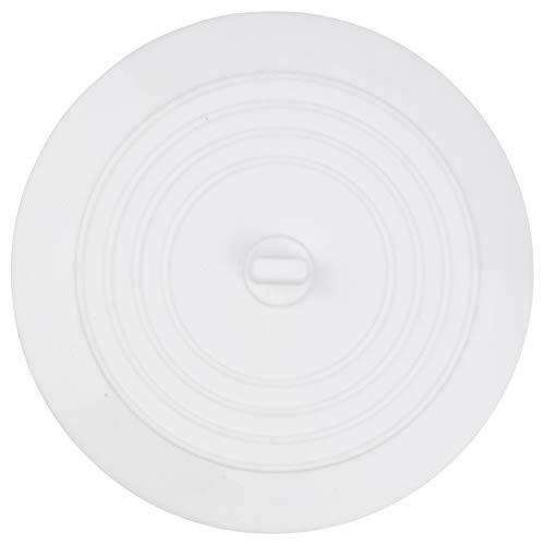 Tapón Universal de silicona para el desagüe de la bañera, la ducha y el fregadero de la cocina, Tapón de Drenaje desmontable, 15 cm de diámetro, para agujeros de desagüe de hasta 120 mm