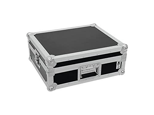 ROADINGER Plattenspieler-Case Tour Pro schwarz -B- | Flightcase für einen Plattenspieler (bis 450 mm Breite)