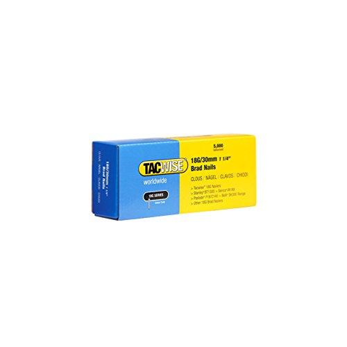 Tacwise 0397 Stiftnägel 18G/30mm Verzinkt (5.000 Stück)