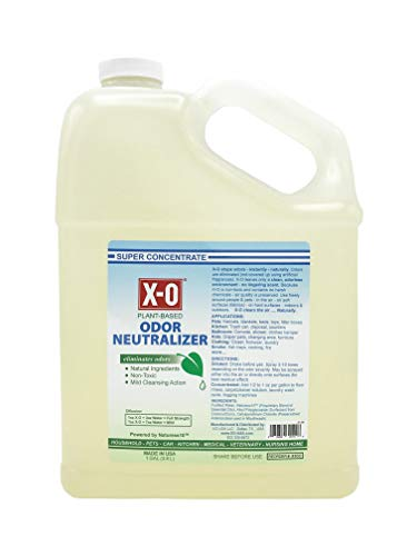 XO PLUS Odor Neutralizer/Cleaner Concentrated (32oz, 1gallon, 5gallons) - ALL-NATURAL Odor Neutralizer Deodorizer. Concentrate, 1-Gallon