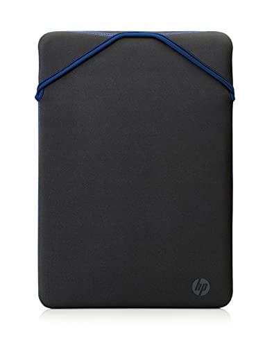 HP - PC Protective Reversibile Sleeve per Notebook fino a 14 , design reversibile, Nero Blue
