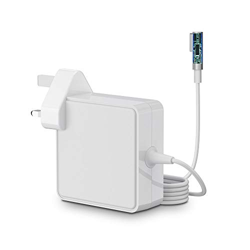 SIMPFUN Compatible With Mac Book Pro Charger 85W Power Adapter, L-Tip Charger for Mac Book 13'&15'&17' Inch - Mid 2009 -Mid 2012 Mac Models MC556B/C A1343 A1278 A1290 A1286