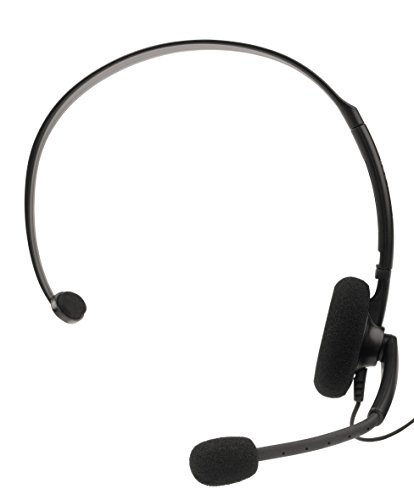 Elite Official Wired Headset Black XBOX 360