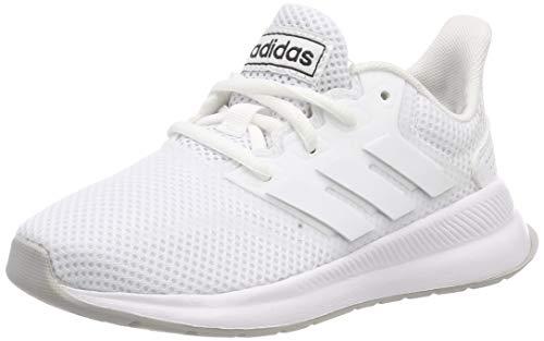 adidas RUNFALCON K, Zapatillas de Trail Running, Blanco Ftwbla Ftwbla Gridos 000, 38 EU