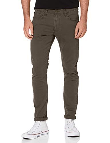 Lee Herren Luke Jeans, Olive Green, 32W / 34L