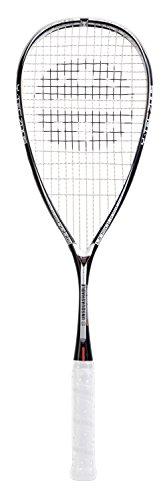 Unsquashable Squash Schläger Y TEC 7005 C4 Squashschläger, Schwarz/Weiß, One Size