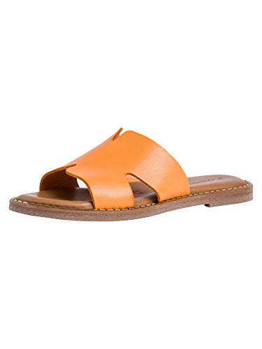 Tamaris Damen 1-1-27135-26 Pantoletten, Slipper, orange, 38 EU