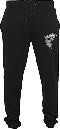 Famous Stars and Straps Famous Logo Sweatpants Pantalones de Correr, Negro, Large para Hombre