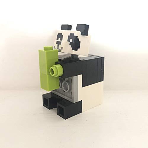 maisterkaio-de Lego Figur Panda -- Minecraft -- (aus Set 21158, kompatibel mit Anderen Lego)