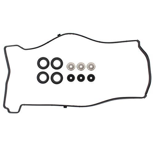 NewYall Engine Valve Cover Gasket Spark Plug Tube Seal Grommet Set