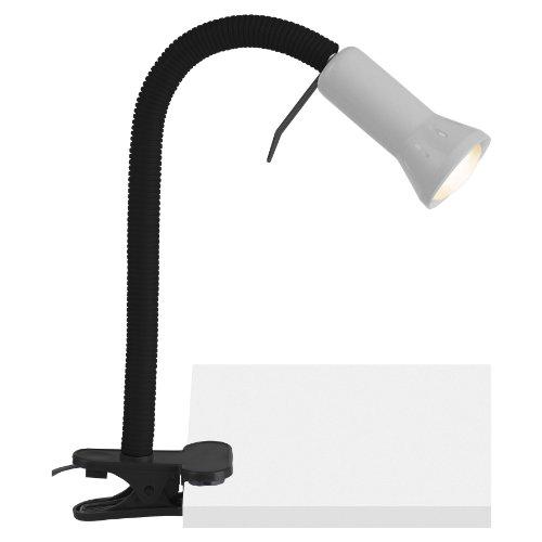 Brilliant 24705/11 Lampe à Fixation Serre Joint E14 40 W Titane Métal/Plastique