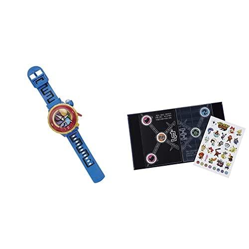 Yo-kai Watch Yo Kai Watch Hasbro B7496546 Reloj Temporada 2, Versión Español + Watch Kai Álbum De Colección De Medallas, Miscelanea (Hasbro B7498Eq0)