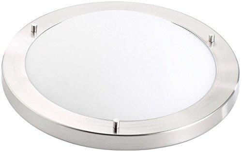 Luminea Deckenlampe E27: Deckenleuchte, IP44, mit Fassung E27, max. 60 W, Ø 31 cm (Deckenlampe mit E27 Fassung)