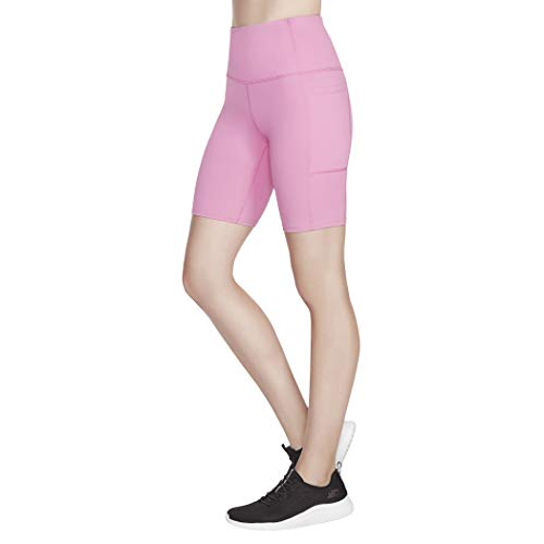 Skechers Pantalón corto para bicicleta Gowalk de 8 pulgadas para mujer