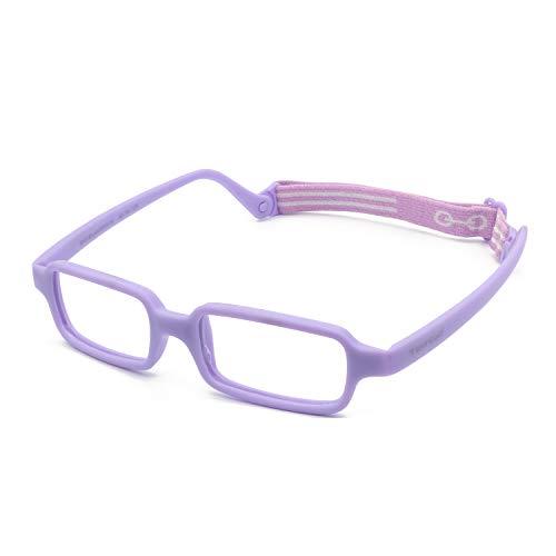 Tempo Throwback: 100114 Flexible Plastic Kids Glasses Age 2-5Yr | Lavender - 39/14