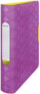 Leitz Lever Arch File, Retro Chic Range, 6 cm Width, 11340065 - A4, Purple