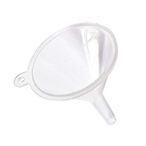 Firoya Trichter Zerstäuber Durchsichtig Leere Sprühflasche Nachfüllbar Feinen Nebel Parfümzerstäuber Spezieller 30-mm-Parfüm-Trenntrichter für Kosmetikgeräte
