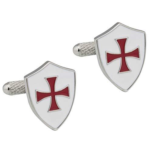 The Cufflink Store Knight Templar Shield Manschettenknöpfe