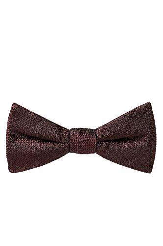 ANTONY MORATO, Herren Fliegen, Bow Tie, Abendkleidung, Weinrot, Seide