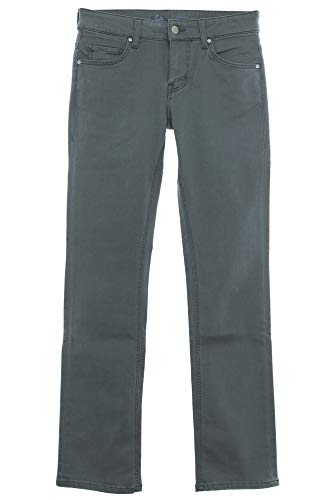 MUSTANG Jeans Julia Comfort Fit Straight Leg Damen Stretch Denim Hose Pants, Farbe:grau, Hosengrößen:W27, Hosenlängen:L34