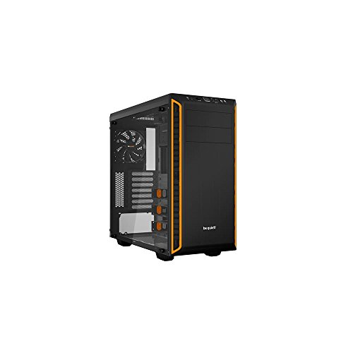 be quiet! Pure Base 600 Window vane portacomputer Midi-Tower Black,Orange