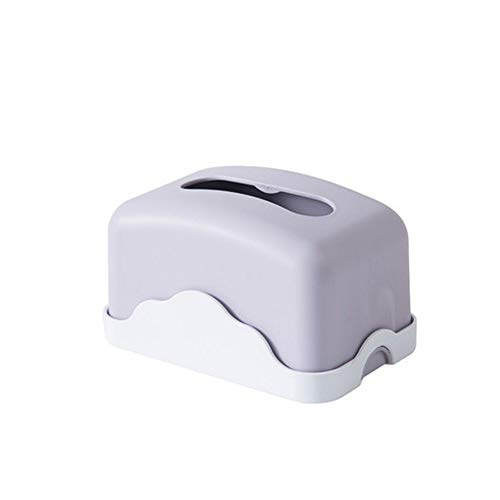 SMEJS Caja de pañuelos de Escritorio, Sala de Estar en casa, Comedor, Mesa de Centro, Caja de pañuelos Creativa Simple y Linda para el hogar (Color : A)