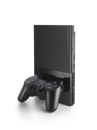 PlayStation 2 - PS2 Konsole, black Starter Pack (inkl. 2 Dual Shock Controller + Memory Card)