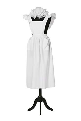 Wilbers PARTY DISCOUNT ® Damen-Kostüm Bauernschürze und Mütze, Einheitsgröße
