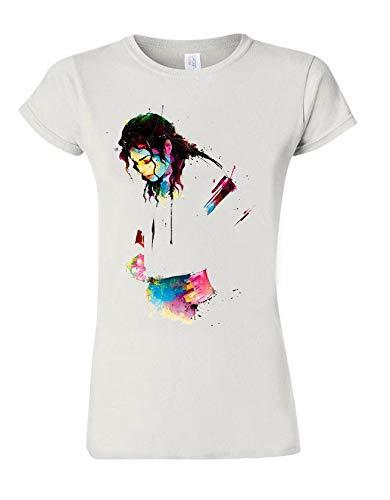 Camiseta de Michael Jackson Dance Legend Star Tee de moda para mujer