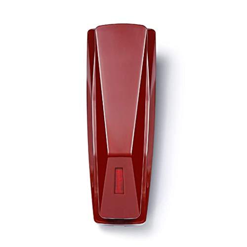 Teléfono Teléfono fijo Montado en la pared Ampliación pequeña Habitación fotográfica Teléfono del hotel Teléfono familiar Indicador de timbre del teléfono del hotel Teléfonos impermeables y a pru