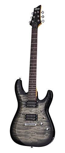Schecter C-6 Plus Solid-Body Electric Guitar, CB